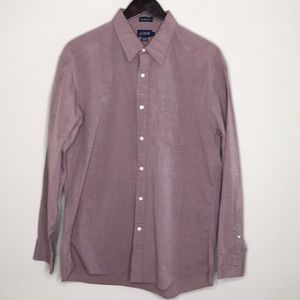 J Crew Button Down Long L Sleeve Solid Color Shirt